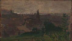 Walter Sickert - View of Dieppe with Eglise du Pollet