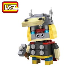 LOZ ABS Hero Style Building Block Educational Cartoon Movie Product Kid Toy - 182pcs - COLORMIX