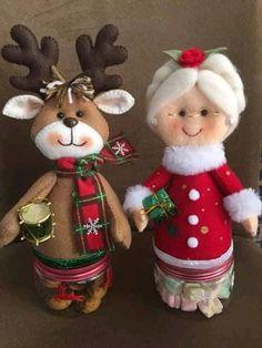 Easy Christmas Ornaments, Simple Christmas, Santa, Teddy Bear, Toys, Holiday Decor, Advent, Crafts, Animals