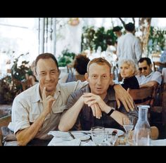 Albert Camus y Michel Gallimard