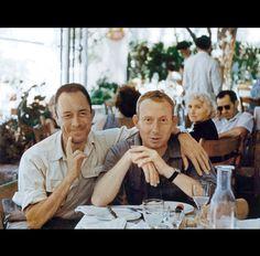 Albert Camus y Michel Gallimard