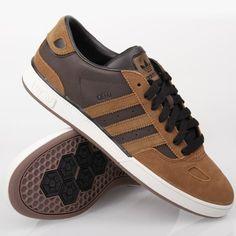 Adidas Ciero Low ST Leather Brown White