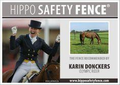 hippo safety fence genomineerd als Horses product van het jaar 2013 en 2014