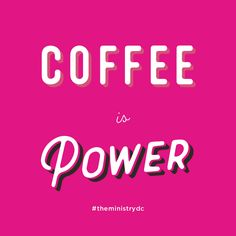 Coffee is Power — by chhorvy ly