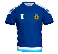 ARGENTINA AWAY 2015/16 Football Jersey With Custom Name and Number