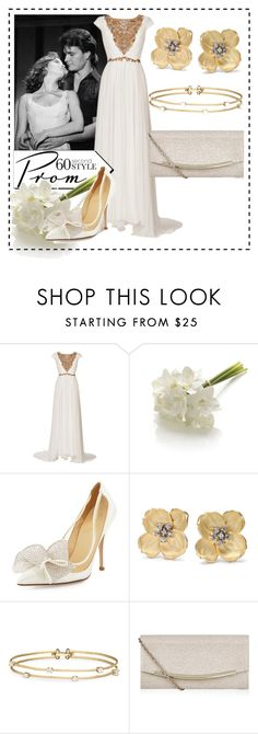 """dirty dancing"" by arrisuna ❤ liked on Polyvore featuring Marchesa, Crate and Barrel, Kate Spade, Paul Morelli, Monsoon, Prom, 60secondstyle and assamite"