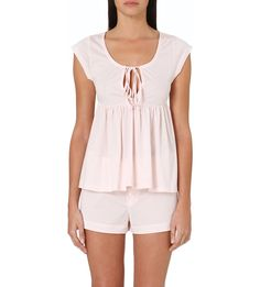 BODAS Cami and shorts pyjama set (Blush pink