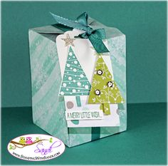 Stampin UP Gift Box Punch Board
