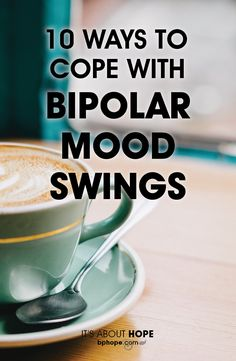 """Ways To Cope With Bipolar Mood Swings"""" bp Magazine """"Bipolar disorder mood swings often occur spontaneously and can be detrimental. Avoiding caffeine and controlling stress are among ways to cope during a mood episode. Anxiety Attacks Symptoms, Stress Symptoms, Anxiety Causes, Bipolar Triggers, Mental Health Resources, Good Mental Health, Mental Health Matters, Mental Help, Bipolar Episode"""