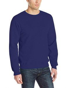 Fruit of the Loom Men's Fleece Crew Sweatshirt, Royal, Large Cotton dominant lightweight fleece with superior softness V-notch detailing at neck Contrast neck tape cover cotton/polyester pre-shrunk fleece Fleece Sweater, Mens Fleece, Men Sweater, Sweatshirts Online, Crew Sweatshirts, Hoodies, Sweatshirt Outfit, Mens Fashion, Mens Tops