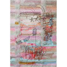 paint on embroidery on paper Contemporary embroidery art Contemporary Embroidery, Embroidery Art, Giving Up, Stitch, Painting, Instagram, Full Stop, Painting Art, Paintings
