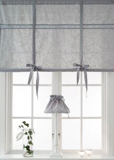 Rollos Gardinen Vorhänge weiss raffrollo 160x120cm vorhang raffgardine landhaus shabby