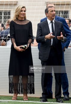 News Photo : Queen Maxima of The Netherlands and Mayor of...