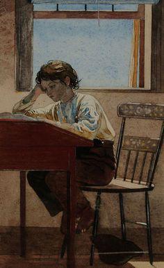 Winslow Homer - Homework