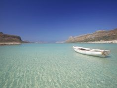 Balos Bay and Gramvousa, Chania, Crete, Greek Islands, Greece, Europe Photographic Print by Sakis Papadopoulos at AllPosters.com