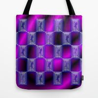Tote Bag featuring The Last Dance  by Bwilly Bwightt