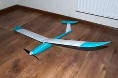 Fully 3D printed sailplane model. optimized for 0.2 nozzle (weight reduction) by grafalex.