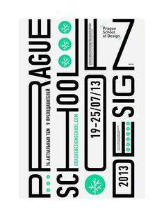 Posters / Prague School of Design/ summer kulachek
