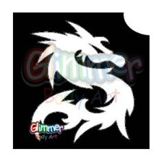 Glimmer Body Art Glitter Tattoos - Dragon 1 (10/pack) by Glimmer Body Art. $6.70. Glimmer Body Arts Glitter Tattoos are non-latex, hypoallergenic and meet all cosmetic grade safety standards. Glitter Tattoos should not be applied to the face or eyes and stencils should be used only once.. Glimmer Body Art Glitter Tattoos are so easy to use that even a beginner can create amazing looking glitter tattoos in minutes. Glimmer Body Art Dragon 1 Glitter Tattoos are 2 in ...