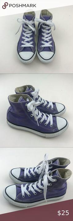 Converse CT Extra High Top Sneaker Shoe Gray Lavender Silver