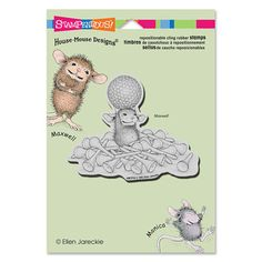 """Cling Tee Time"", Stock #: HMCP24, from House-Mouse Designs®. This item was recently purchased off from our web site, www.house-mouse.com. Click on the image to see more information."