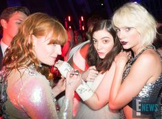 Florence Welch, Lorde & Taylor Swift from Met Gala 2016: Inside the Exclusive Event | E! Online