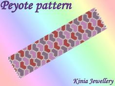 Check out this item in my Etsy shop https://www.etsy.com/listing/540190894/pt008-peyote-bracelet-pattern-odd-count