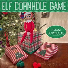 North Pole Holiday, Awesome Elf On The Shelf Ideas, Elf Is Back Ideas, Elf On Shelf Funny, Shelf Elf, L Elf, Elf Games, Elf Letters, Fun Christmas Activities