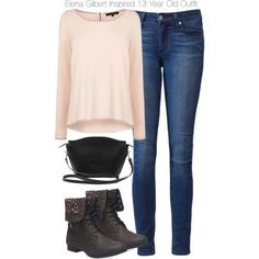 A fashion look from October 2014 featuring Coast sweaters, Paige Denim jeans and Wet Seal boots. Browse and shop related looks.