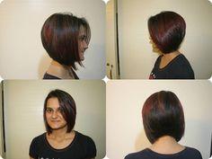 #red #lightbrown #darkhair #longbob #gorgeoustransformation #INDIanBEauT #insalon