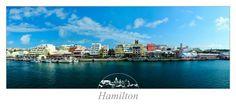 Hamilton ist eine süße kleine Stadt auf den Bermudas.