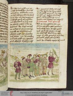 Cod. Pal. germ. 60: Historienbibel ; Irmhart Öser ; 'Brandans Reise' u.a. (Südwestdeutschland, um 1460), Fol 31r