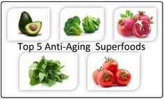 Top 5 Anti-Aging Superfoods   Healthy Food Master