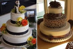 round-wedding-cakes-pictures ~ http://womenboard.net/wonderful-round-wedding-cakes/