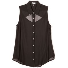 Forever 21 AW12 Studded Dress, 19.75 ❤ liked on Polyvore featuring tops, shirts, blouses, tank tops, studded tank top, checkered top, check pattern shirt, forever 21 tank and forever 21 tank tops
