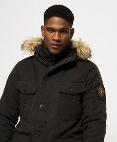 Superdry Everest Wax Jacket  Green
