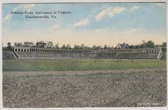University of Virginia, Charlottesville, Athletic Field, Posted 1910