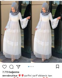 @sonay Muslim Women Fashion, Modern Hijab Fashion, Abaya Fashion, Fashion Dresses, Modest Dresses, Casual Dresses, Hijabi Gowns, Abaya Mode, Kalamkari Dresses