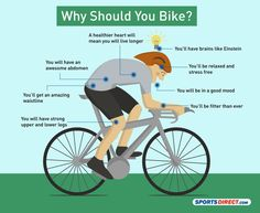 What does biking do for your body?