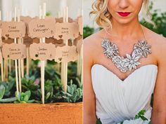 lovely bridal necklace