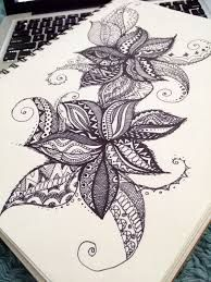 Risultati immagini per cool designs to draw with sharpie flowers