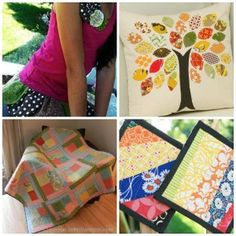 28 Scrap Fabric Projects - When you have scraps of fabric leftover from other projects, don't throw them away!