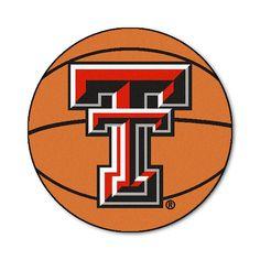 Texas Tech Red Raiders NCAA Basketball Round Floor Mat (29)