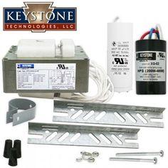 400W HID Ballast Quad Tap HPS-400A-Q-KIT S51 - Keystone | iLighting