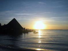 Sunrise at Dominican republic