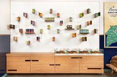 Maison Marou cafe branding & interior design - Grits + Grids