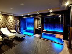 Check out the webpage just press the grey link for more alternatives _ 3 person infrared sauna Home Spa Room, Spa Rooms, Sauna Steam Room, Sauna Room, Float Room, Jacuzzi Room, Sauna Design, Spa Interior, Luxury Swimming Pools