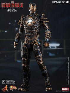 http://spaceart.de/produkte/irm011.php ... Diese Iron Man Figur von Hot Toys (Mark XLI Bones) ist mal wieder sehr beeindruckend ... vor Allem auch wegen des Detailreichtums. Habt Ihr eigentlich einen Lieblings-Iron-Man-Anzug aus der finalen Schlacht von Iron Man 3?