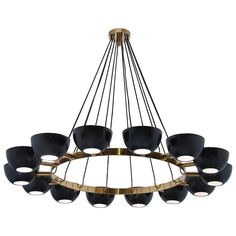 LUfatti Chandelier | From a unique collection of antique and modern chandeliers and pendants at https://www.1stdibs.com/furniture/lighting/chandeliers-pendant-lights/