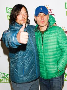 Star Tracks: Tuesday, January 27, 2015 | PUFF PIECE | Also at Sundance: The Walking Dead's Norman Reedus and Andrew Lincoln, who make their point on the red carpet.